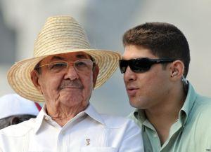 Raul y su nieto